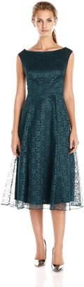 Betsey Johnson Women's Sleeveless Fit/Flare Lace Dress