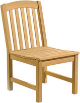 Oxford Garden Kelley Dining Side Chair, Natural