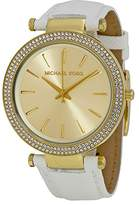 Michael Kors Women's Darci MK2391 White Stainless-Steel Quartz Watch