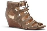 Sole Society Freyaa Lace-up Wedge Sandal