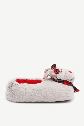 Ardene Xmas Reindeer Slippers