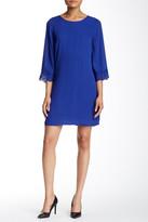 Daniel Rainn Lace Trim Cutout Back Dress (Petite)