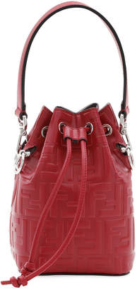 Fendi FF Calf Mon Tresor Bucket Bag