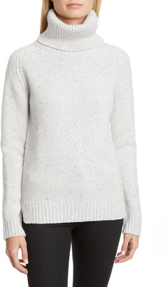 ADAM by Adam Lippes Marled Wool & Cashmere Turtleneck Sweater