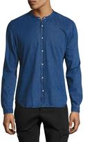 The Kooples Mandarin Collar Sportshirt