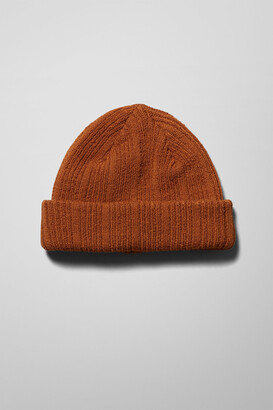 Weekday Otis Beanie - Orange