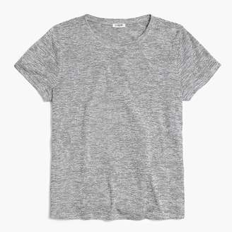 J.Crew Space-dyed tie-back T-shirt