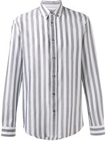 Maison Margiela classic striped shirt - men - Cotton - 38