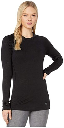 Smartwool Merino 150 Lace Base Layer Long Sleeve (Black) Women's T Shirt