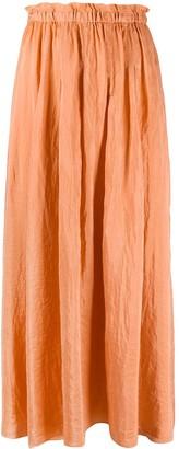 Forte Forte Straight Fit Habotai Skirt