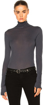 Enza Costa Turtleneck Fitted Tee