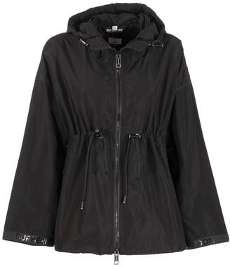 Burberry Bacton Logo Tape Shape-memory Taffeta Hooded Jacket