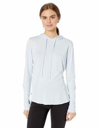 Maaji Women's Hooded Long Sleeve Cotton Modal Top
