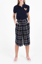Paul & Joe Sister Pleated Front Check Trousers