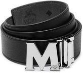 MCM Claus Reversible Saffiano Leather Belt