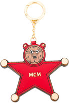 MCM star keyring - women - Calf Leather/metal - One Size