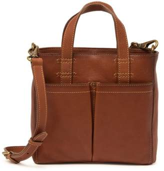 Frye Mindy Leather Mini Tote Crossbody Bag