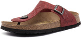 Papillio by Birkenstock Gizeh Embossed Python Red