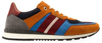 Bally Ascona Aseo Mix Media Stripe Low-Top Sneakers