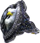 Sevan Biçakci Carved Eagle Diamond Ring