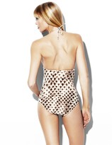 Vince Camuto Halter One-Piece