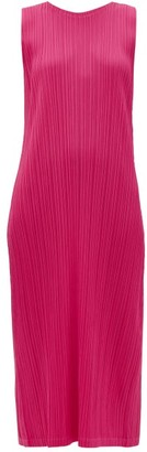 Pleats Please Issey Miyake Technical-pleated Dress - Pink