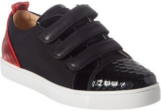 Christian Louboutin Kiddo Orlato Patent Sneaker