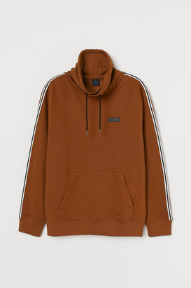 H&M Funnel-collar sweatshirt