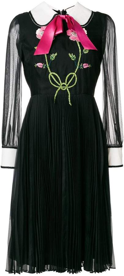 4259680c Gucci Pleated Skirt Dresses - ShopStyle