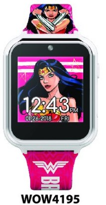 WONDER WOMAN iTime Interactive Smart Watch 40 MM