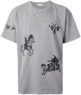 J.W.Anderson Camelot motifs T-shirt