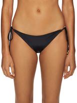 Shoshanna Solid Tie Bikini Bottom