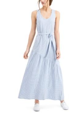 Lucky Brand Boardwalk Knit-Shirt Maxi Dress