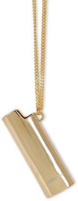 Ambush Gold-tone large Lighter Case necklace