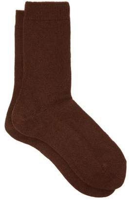 Falke Cosy Ankle Socks - Womens - Dark Brown