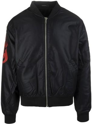 Vision Of Super Black Rock Man Bomber Jacket