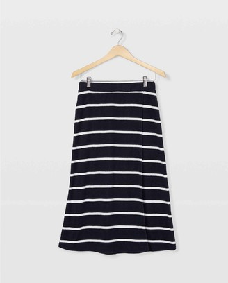Club Monaco Terry Toweling Skirt