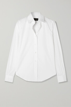 Emma Willis Cotton-poplin Shirt - White