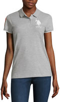 U.S. Polo Assn. Solid Knit Polo Shirt-Juniors