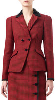 Altuzarra Paladini Check Wool Jacket