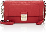 Trussardi WOMEN'S CHAIN-STRAP SHOULDER BAG-RED