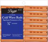 Fromm International Diane Cold Wave Rods, Tangerine, 3/4-Inch, 12/Bag (Pack of 12)