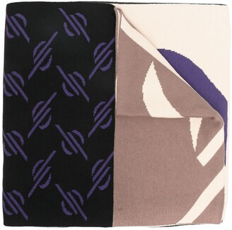 Daily Paper Logo Knitted Scarf
