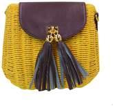 Monique Girls Women Cute Straw Shoulder Bag Ladies Vintage Leisure Summer Beach Cross-body Bag