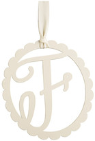 Mud Pie Scalloped Initial Wall Hanger - F