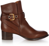 Chloé Max leather ankle boots