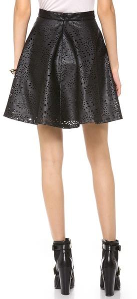 BB Dakota Brian Perforated Skirt