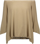 Enza Costa Off-the-shoulder stretch-jersey top
