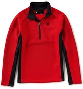 Spyder Outbound Half-Zip Mid Weight Stryke Pullover Jacket