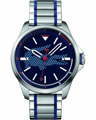 Lacoste Unisex-Adult Analogue Classic Quartz Watch with Stainless Steel Strap 2010944